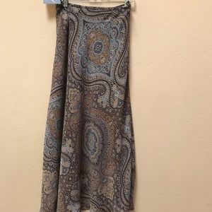 East 5th Paisley Long Skirt